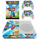 Mario  Rabbids Kingdom Battle skin decal for Xbox one S console and controllers