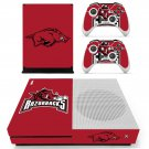 Arkansas razorbacks skin decal for Xbox one S console and controllers