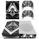 Novus Ordo Seclorum skin decal for Xbox one S console and controllers