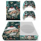 iPhone Graffiti skin decal for Xbox one S console and controllers
