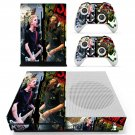 Green day sum 41 skin decal for Xbox one S console and controllers