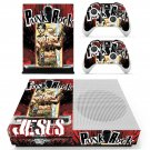 Punk Rock skin decal for Xbox one S console and controllers