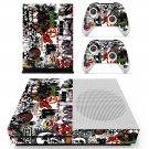 Music Bands Sticker skin decal for Xbox one S console and controllers