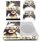 Royalty inspired fashion skin decal for Xbox one S console and controllers
