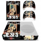 Punk Rock Jesus skin decal for Xbox one S console and controllers