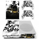 Daft Rock skin decal for Xbox one S console and controllers