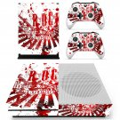 Rock music HD skin decal for Xbox one S console and controllers