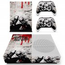 Foxboro Hot Tubs skin decal for Xbox one S console and controllers