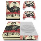 Chinese Revolution skin decal for Xbox one S console and controllers