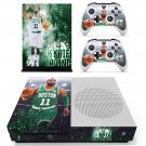 Boston Celtics skin decal for Xbox one S console and controllers
