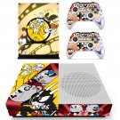 Cuphead skin decal for Xbox one S console and controllers