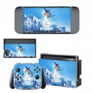 Pyeongchang 2018 Nintendo switch console sticker skin