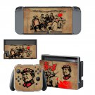 Reading to the farmers Nintendo switch console sticker skin