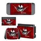 Punk Outlaw Nintendo switch console sticker skin