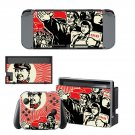 Chinese Revolution Nintendo switch console sticker skin