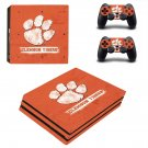Clemson Tigers baseball ps4 pro skin decal for console and controllers