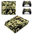 Old school rock and roll ps4 pro skin decal for console and controllers