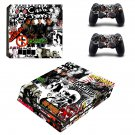 Various Bands ps4 pro skin decal for console and controllers