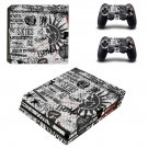 Punk Wallpapers ps4 pro skin decal for console and controllers
