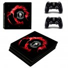 Punk Rock for autism ps4 pro skin decal for console and controllers