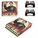 Chinese Revolution ps4 pro skin decal for console and controllers