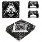 Novus Ordo Seclorum ps4 pro skin decal for console and controllers