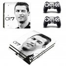 Cristiano Ronaldo ps4 pro skin decal for console and controllers