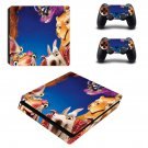Ice Age ps4 slim skin decal for console and controllers