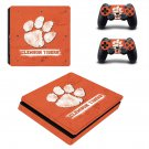 Clemson Tigers baseball ps4 slim skin decal for console and controllers