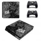Punk rock ps4 slim skin decal for console and controllers