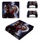 Punk rock Zombies ps4 slim skin decal for console and controllers