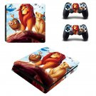 Animal United ps4 slim skin decal for console and controllers
