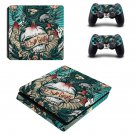 Set Your Goals ps4 slim skin decal for console and controllers
