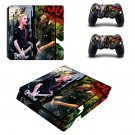 Green day sum 41 ps4 slim skin decal for console and controllers