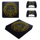 Fenerbahçe S K ps4 slim skin decal for console and controllers