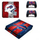 Buffalo Bills ps4 slim skin decal for console and controllers