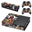 OnePiece skin decal for Xbox one console and controllers