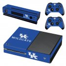 Kentucky Wildcats skin decal for Xbox one console and controllers