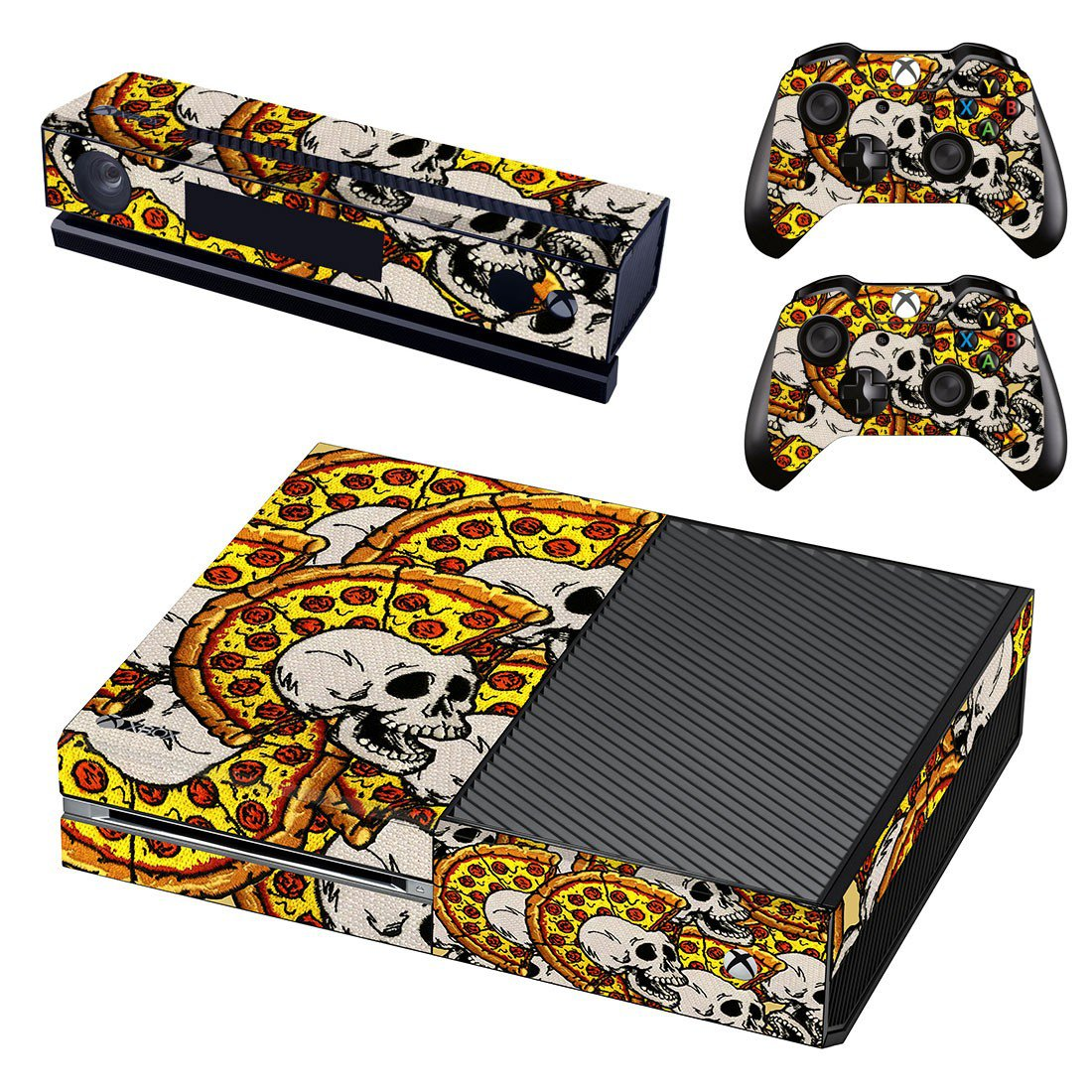 Artificial Skulls skin decal for Xbox one console and controllers