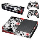 Thirsty and Miserable skin decal for Xbox one console and controllers