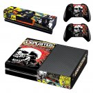 The Exploited Punk singles skin decal for Xbox one console and controllers