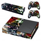 Green day sum 41 skin decal for Xbox one console and controllers