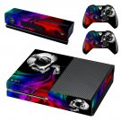 Skulls Music skin decal for Xbox one console and controllers