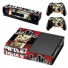 Punk Rock Jesus skin decal for Xbox one console and controllers