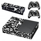 Punk rock skin decal for Xbox one console and controllers