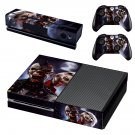 Punk Rock Zombies skin decal for Xbox one console and controllers
