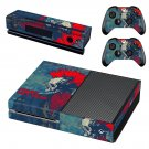 Punks not dead skin decal for Xbox one console and controllers
