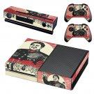 Chinese Revolution skin decal for Xbox one console and controllers