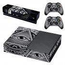 Novus Ordo Seclorum skin decal for Xbox one console and controllers