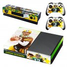 Aaron Rodgers skin decal for Xbox one console and controllers
